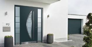 Aluminium Front Entrance Doors