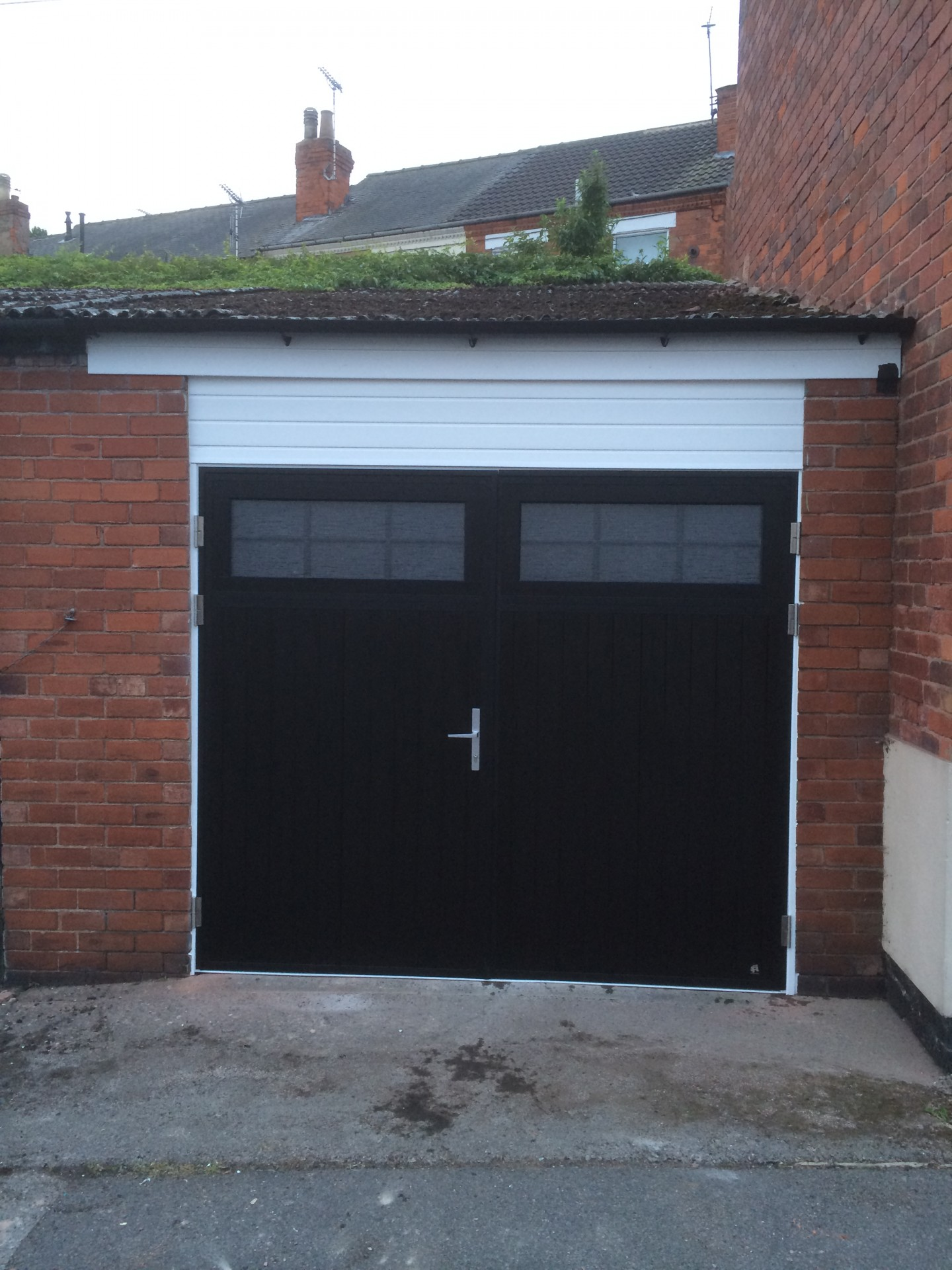 Side Hinged Garage Doors Byron Doors Traditional Style