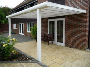 Patio roof